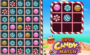 Jeu Super Candy Match