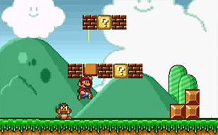 Jeu Super Flash Mario Bros