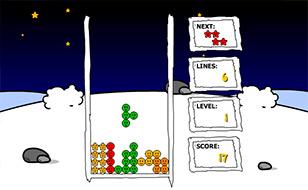 Jeu Tetris Noel