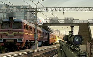 Jeu Trainyard Shootout