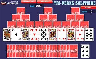 Jeu Tri-Peak Solitaire