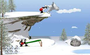Jeu Yeti - La revanche des pingouins