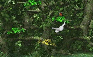 Jeu YetiSports 8 - Jungle Swing