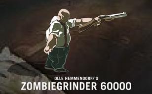 Jeu Zombie Grinder 6000