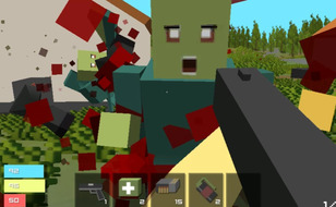 Jeu ZombieCraft.io